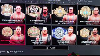 WWE2K19 - Community Creations, Titles and DLC.