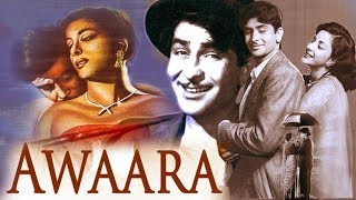 Awara (1951)  Hindi Full Movie HD 720P - Raj Kapoor & Nargis