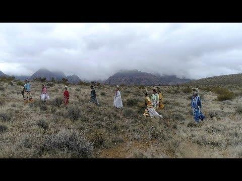 Native Americans At Red Rock Canyon