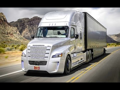 Daimler's Self Driving Truck Nevada Worlds First Licensed Autonomous Freightliner Inspiration CARJAM