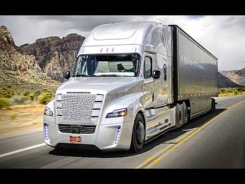Daimler's Self Driving Truck Nevada Worlds First Licensed Autonomous Freightliner Inspiration CARJAM