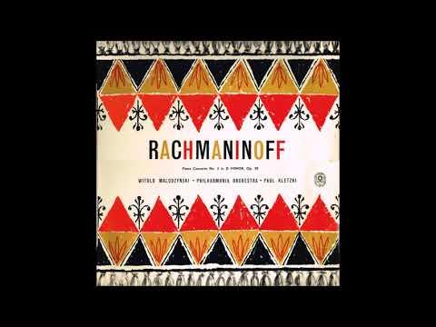 "Rachmaninov ""Piano Concerto No 3"" Witold Malcuzynski/Paul Kletzki"