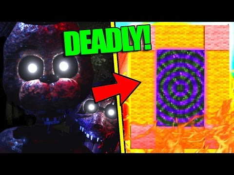 HOW TO MAKE A PORTAL TO THE FNAF THE JOY OF CREATION DIMENSION - MINECRAFT TJOC