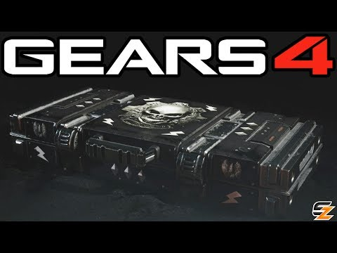 Gears of War 4 Gear Packs - Opening 5 WRESTLER OSCAR PACKS!