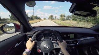 2018 Alfa Romeo Stelvio Quadrifoglio - POV Test Drive (Binaural Audio)