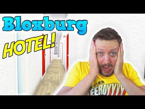 BYGGER ET HOTEL! - Roblox Bloxburg Dansk Ep 18
