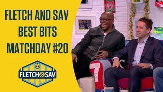 Fletch and Sav Best Bits Matchday #20