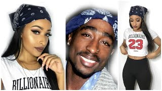Tupac Vibes Complete Makeup Look!