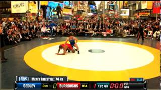 Jordan Burroughs vs. Aniuar Geduev 74KG - 2011 Beat the Streets Battle on Broadway