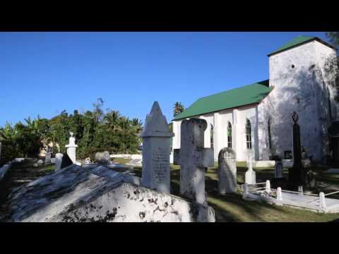 Iles Cook Avarua Conférence chrétienne / Cook islands Rarotonga Avarua Christian speaking