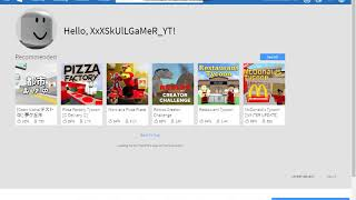 How to create a ROBLOX account + a nice avatar + a free account!