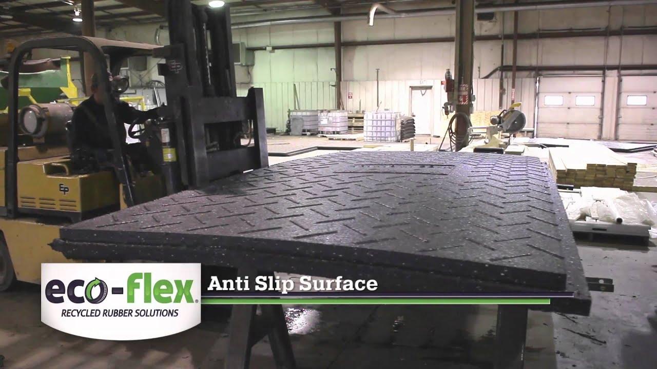 Yukon rubber rig mat