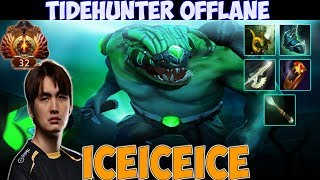 Iceiceice - Tidehunter Offlane Gameplay  | Top Rank Pro Gameplay - Dota 2