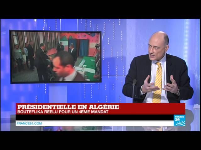 "Algérie : Bouteflika réélu, un résultat ""malheureusement attendu"""