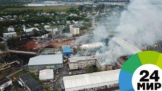Пожар на ТЭЦ огонь тушили более 15 часов