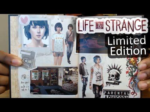 Life Is Strange Limited Edition Unboxing & Artbook