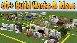 60+ MINECRAFT BUILD HACKS AND IDEAS