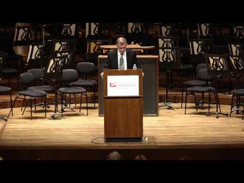 "November 6, 2014 - Alex Ross' Pre-Concert Lecture ""Composers and Critics, Composers as Critics"""