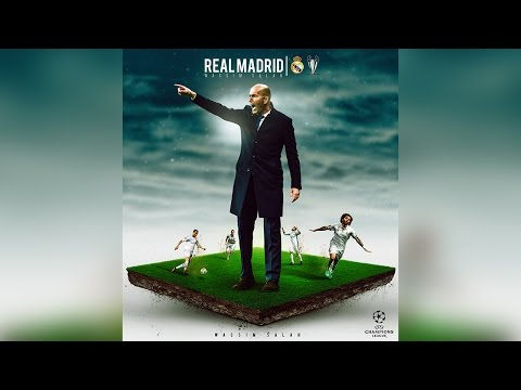 Photoshop Tutorial | Football Manipulation | Real Madrid