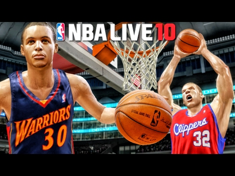 ROOKIES CURRY & GRIFFIN IN RISING STARS CHALLENGE! NBA Live 10 Gameplay Ep. 1