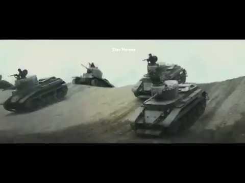 Soviet Tanks Vs Japanese Infantry And Motorized (Soviet Tankists March)