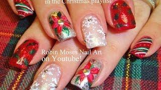 5 Nail Art Tutorials | Diy Easy Christmas Nail Art | Mix N Match Xmas Nail Design!