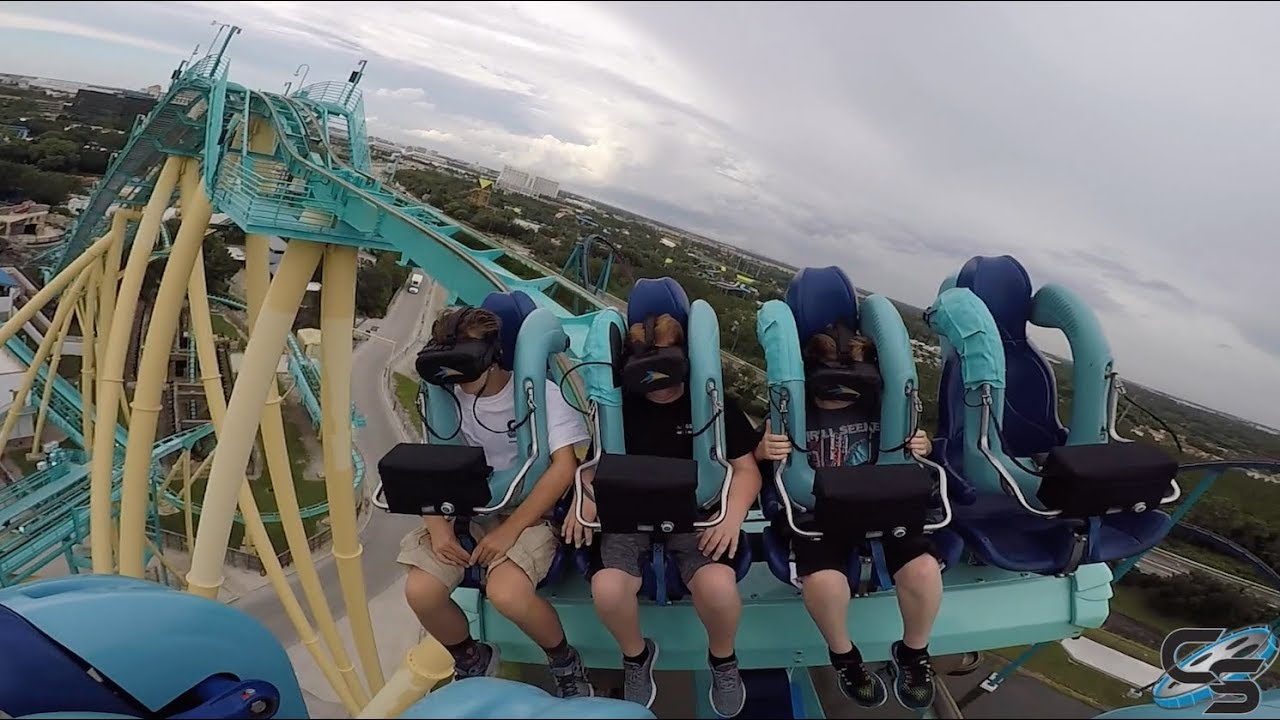 Download Kraken Unleashed VR Review at SeaWorld Orlando: Coaster Vlog #157