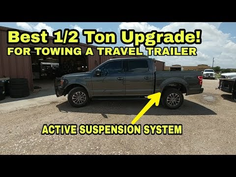 Must have for 1/2 Ton RV towing! Roadmaster Active Suspension