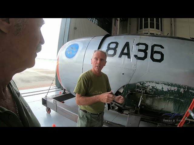 Republic P-47 Thunderbolt - Kermie Cam Visit at FoF - Part 1 of 2