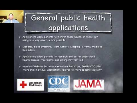 Mobile Healthcare Applications - Health Informatics
