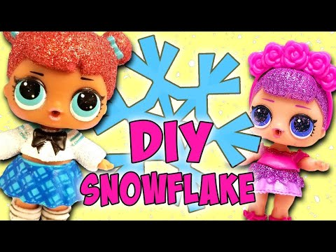 LOL Surprise Dolls Snowflake Competition! Featuring Sugar Queen, Teacher's Pet, and Lil Snow Bunny!
