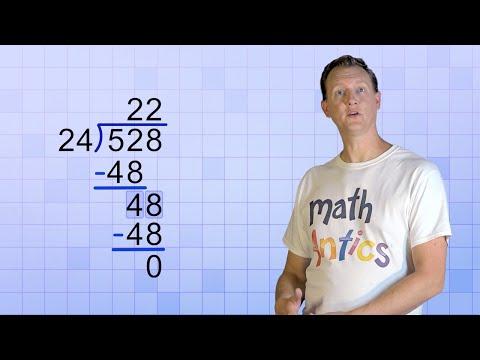 Math Antics - Long Division with 2-Digit Divisors