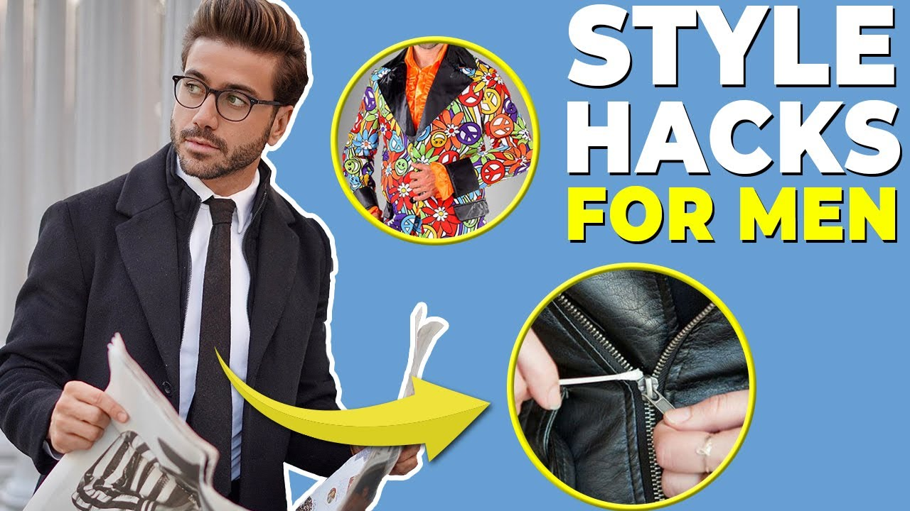 AWESOME Style Hacks You NEED to Know in 2021 | Men's Fashion