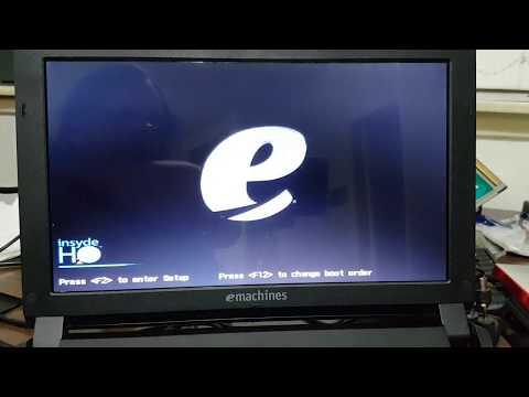 EMachines Em350 Netbook Factory Restore