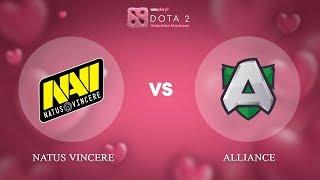Natus Vincere vs Alliance - RU @Map2 | Dota 2 Valentine Madness | WePlay!