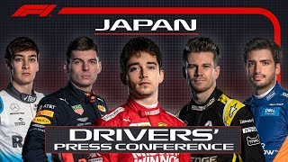 2019 Japanese Grand Prix: Pre-Race Press Conference