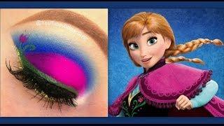 Disney's Frozen: Princess Anna makeup tutorial