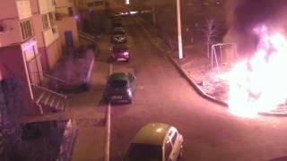 2014.01.06 04:20 Поджог автомобиля