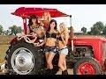 Hot Girl Mega Machines, Primitive Technology vs World Modern Agriculture Future Technology