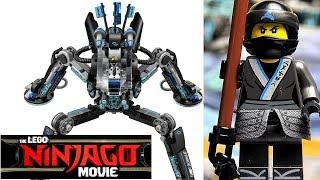 LEGO Ninjago Movie 70611 Водяной Робот Нии Обзор набора по мультику Лего Ниндзяго Фильм