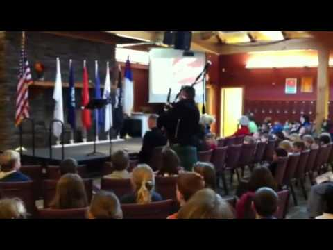 Veterans Day celebration at Concord Christian Academy