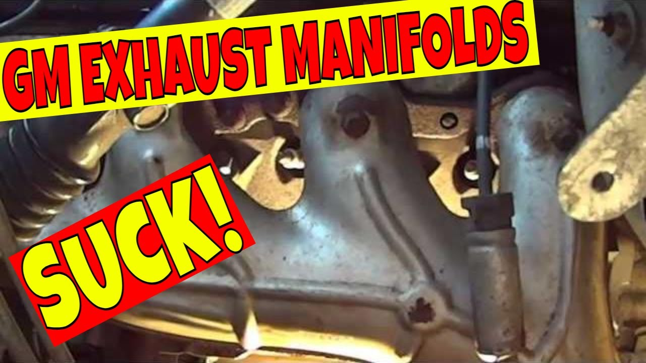 gmc sierra exhaust manifold bolts replace fix repair p1
