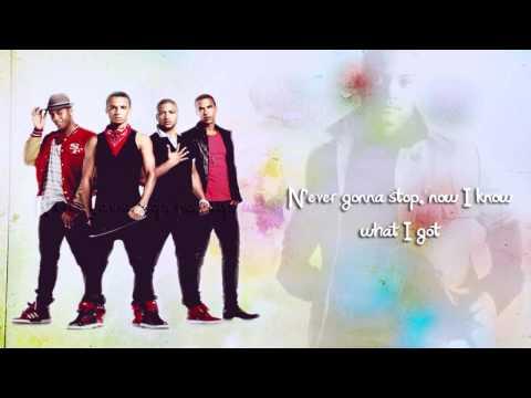 JLS - Never Gonna Stop Lyrics Video