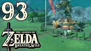 [93] The Legend Of Zelda: Breath Of The Wild - Busted Ass Horse Obstacle Course - Let's Play (Wii U)
