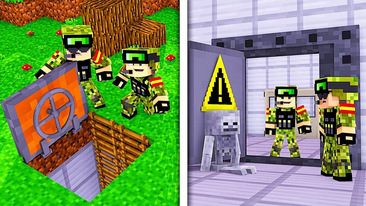 NOTRE NOUVELLE BASE MILITAIRE ! | Minecraft Military Base