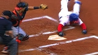 Anthony Gose Steals Home