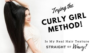 Hair with Asian girl curly