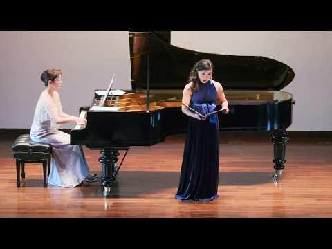 Akiko Forster Miyamoto sings Richard Strauss' songs 宮本あき子