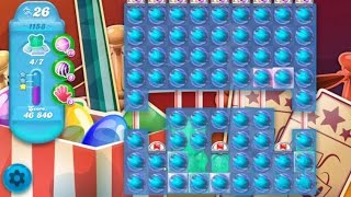 Candy Crush Soda Saga Level 1158 ★★★ Coloring Candy Fun The Highest Score