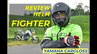 Review Helm Fighter Yamaha